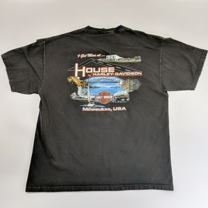 House of Harley-Davidson Dealership T-shirt